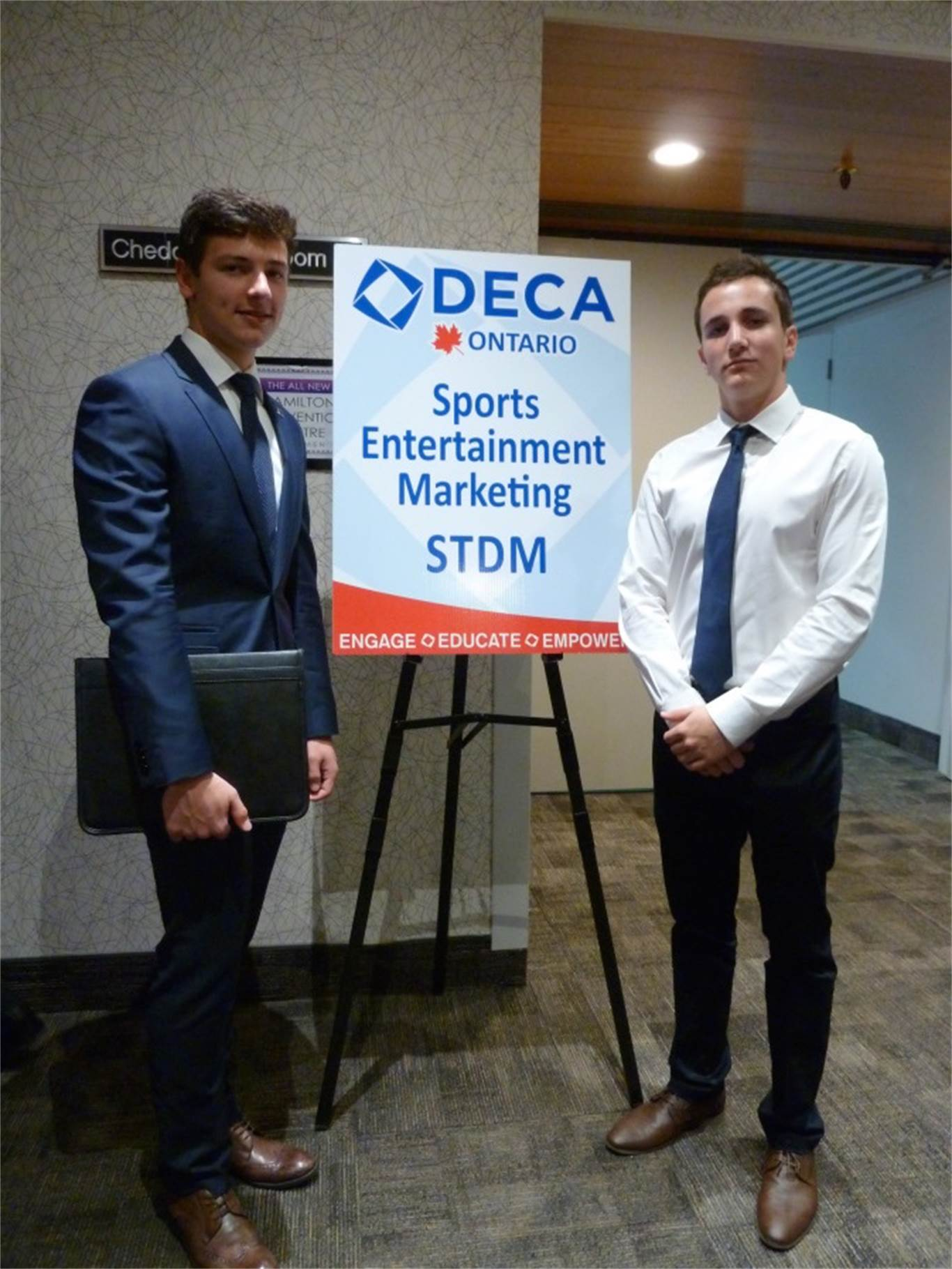 deca competition Join deca ontario deca prepares emerging leaders and entrepreneurs in hospitality,  learn how to effectively lead your chapter, train for competition,.