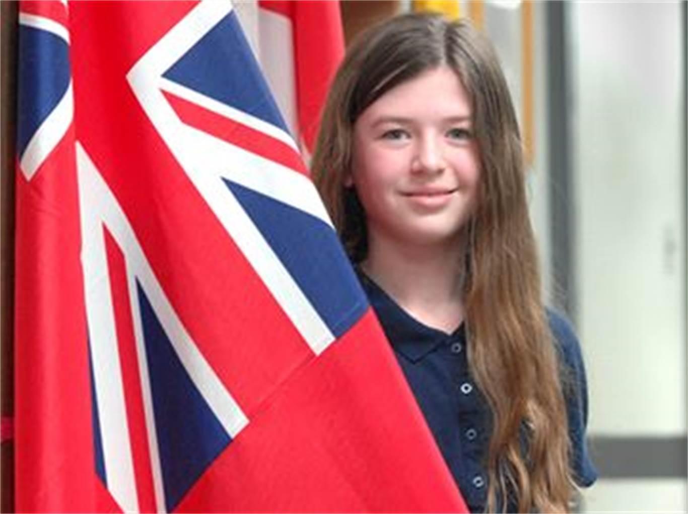 Hamilton Mountain student Laura Persichini prepares for ...