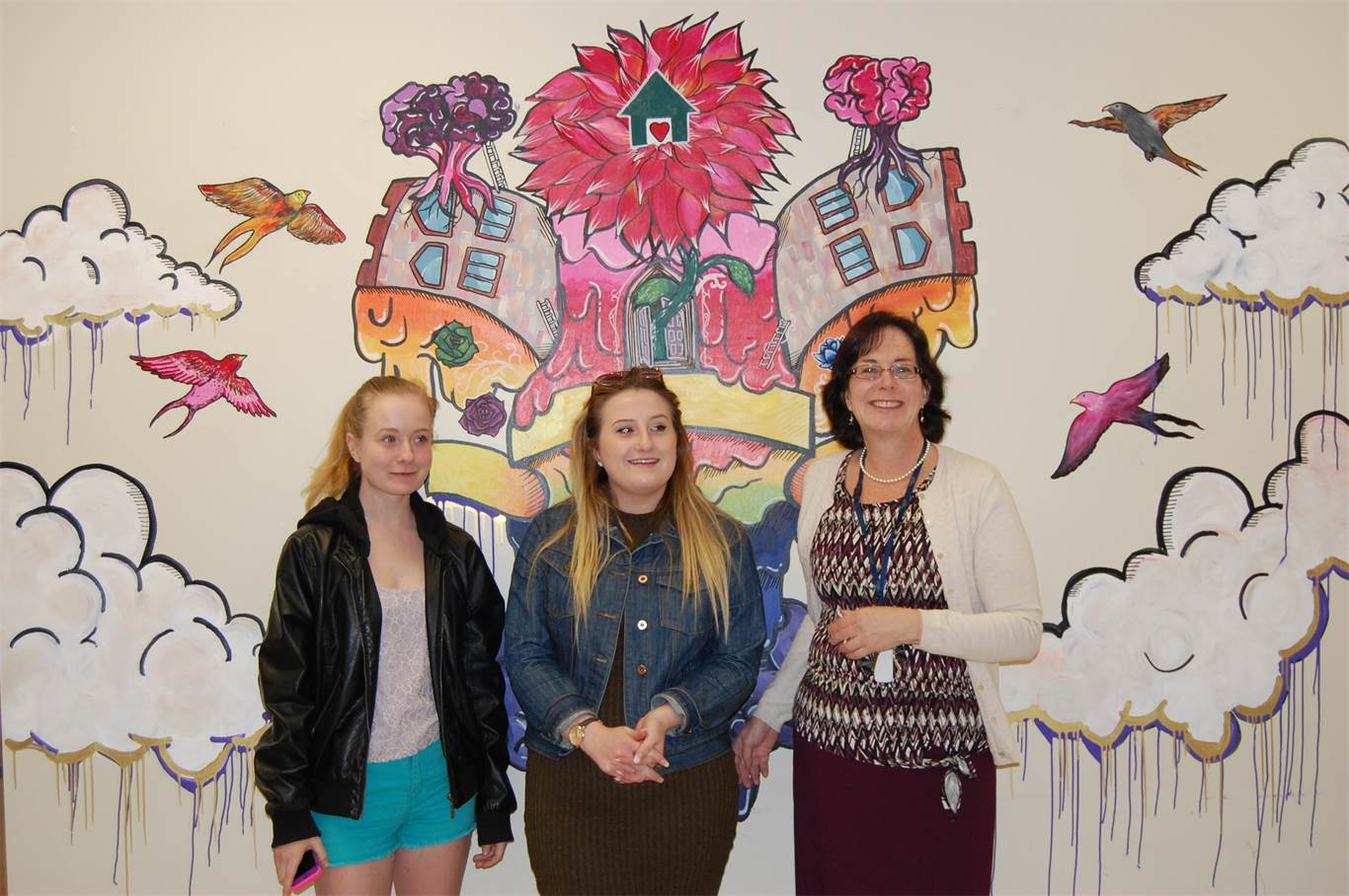 Wilma's Place mural project promotes mental health