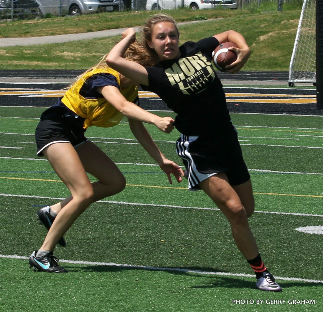 st mary wins second consecutive girls touch football title photo by gerry graham
