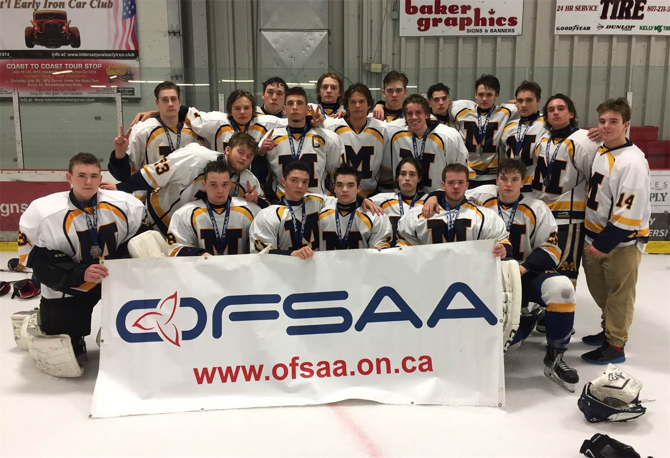crusaders capture silver at hockey showcase event photo by paul roe