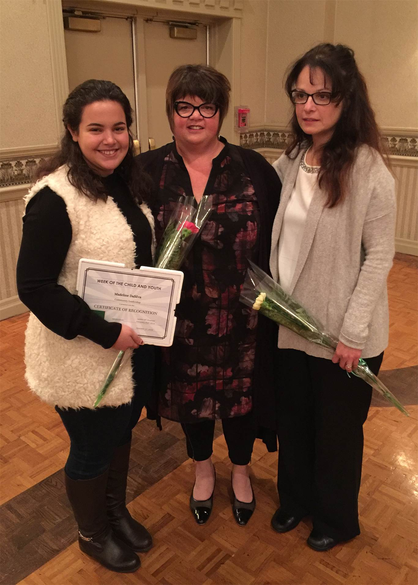 47f7f4e8c4 Two individuals from the Hamilton-Wentworth Catholic District School Board  were recognized by the Week
