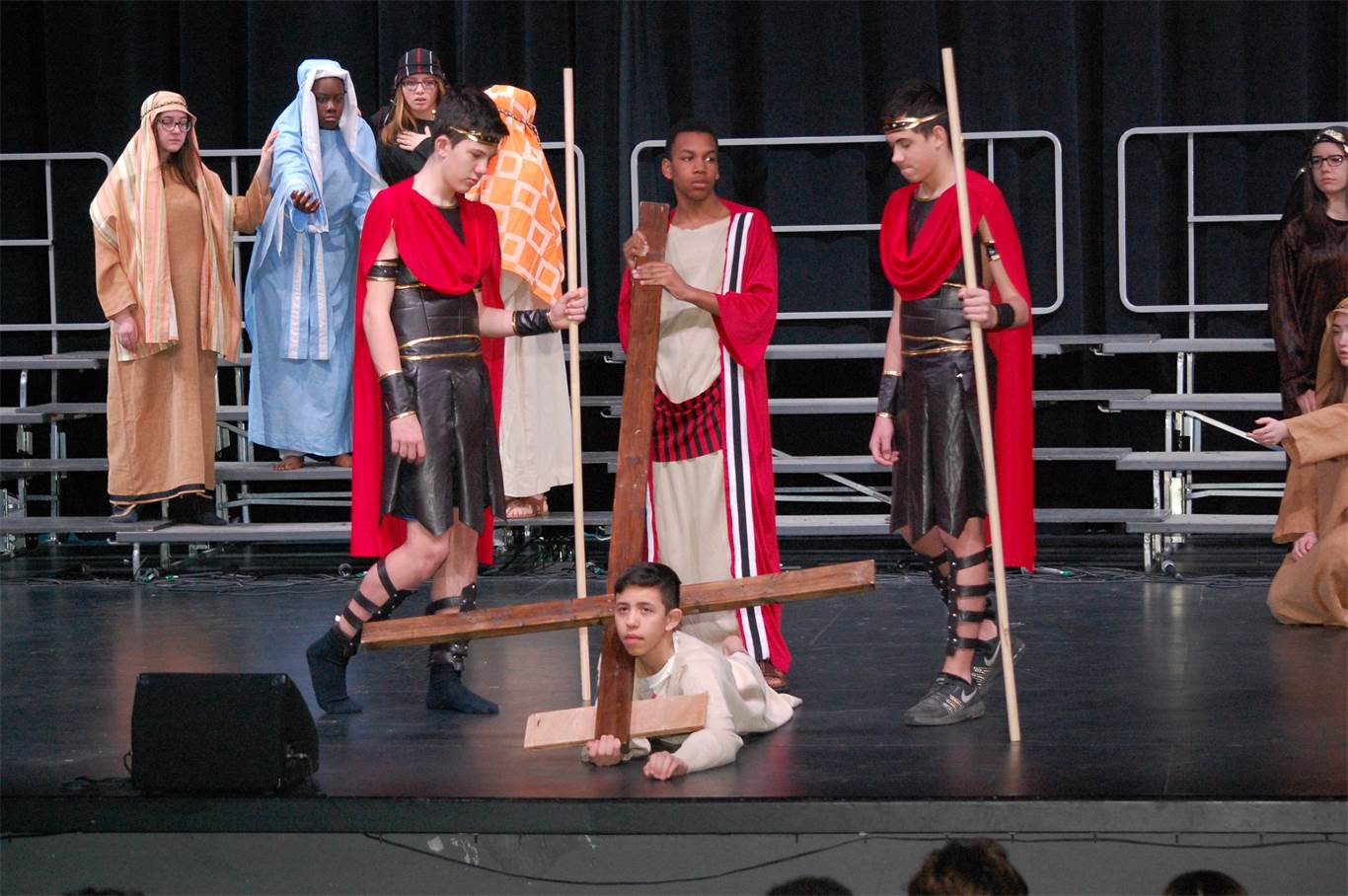 Bishop Ryan students journey with Jesus in Stations of the Cross