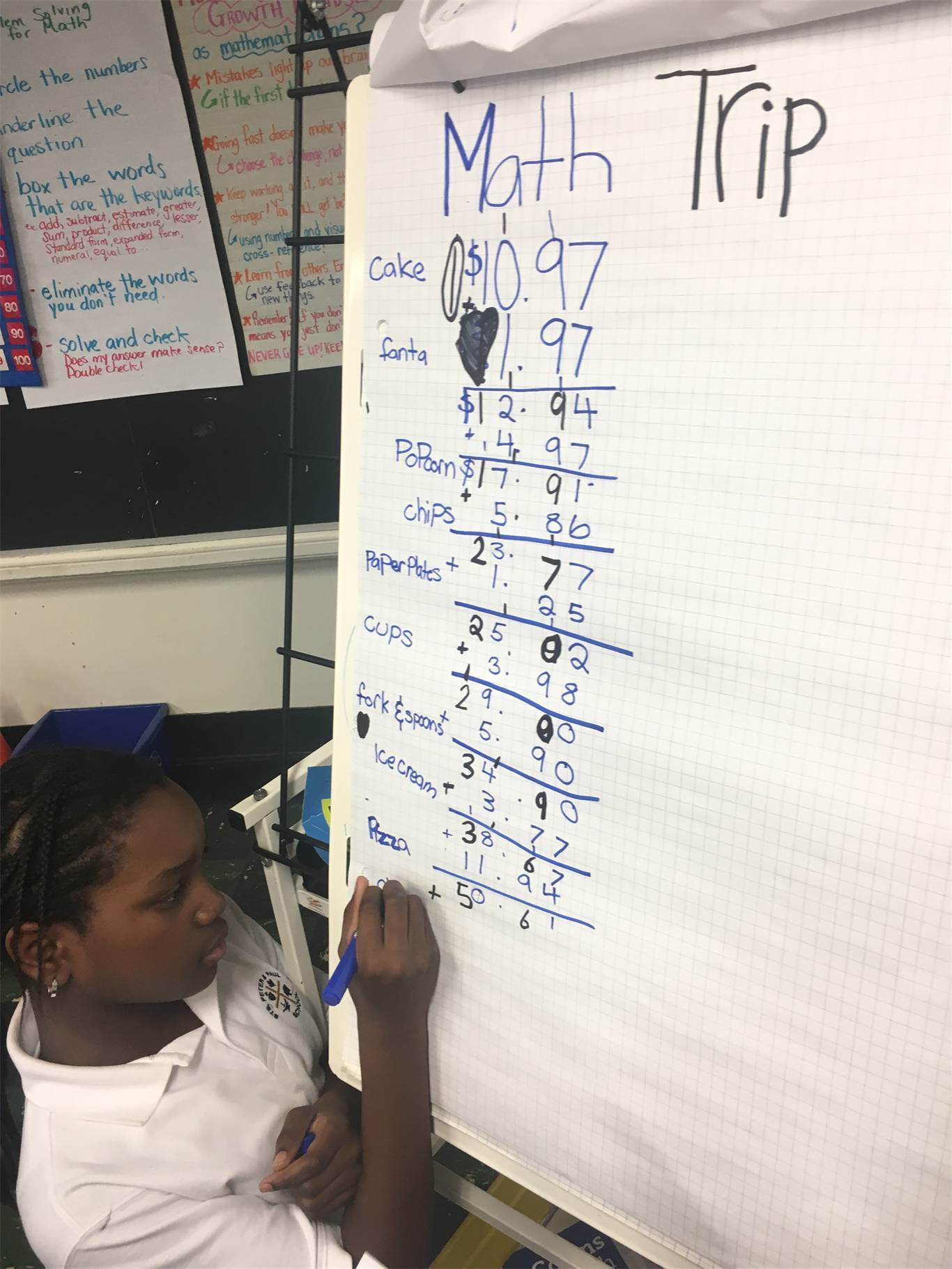 Students bring math class to life