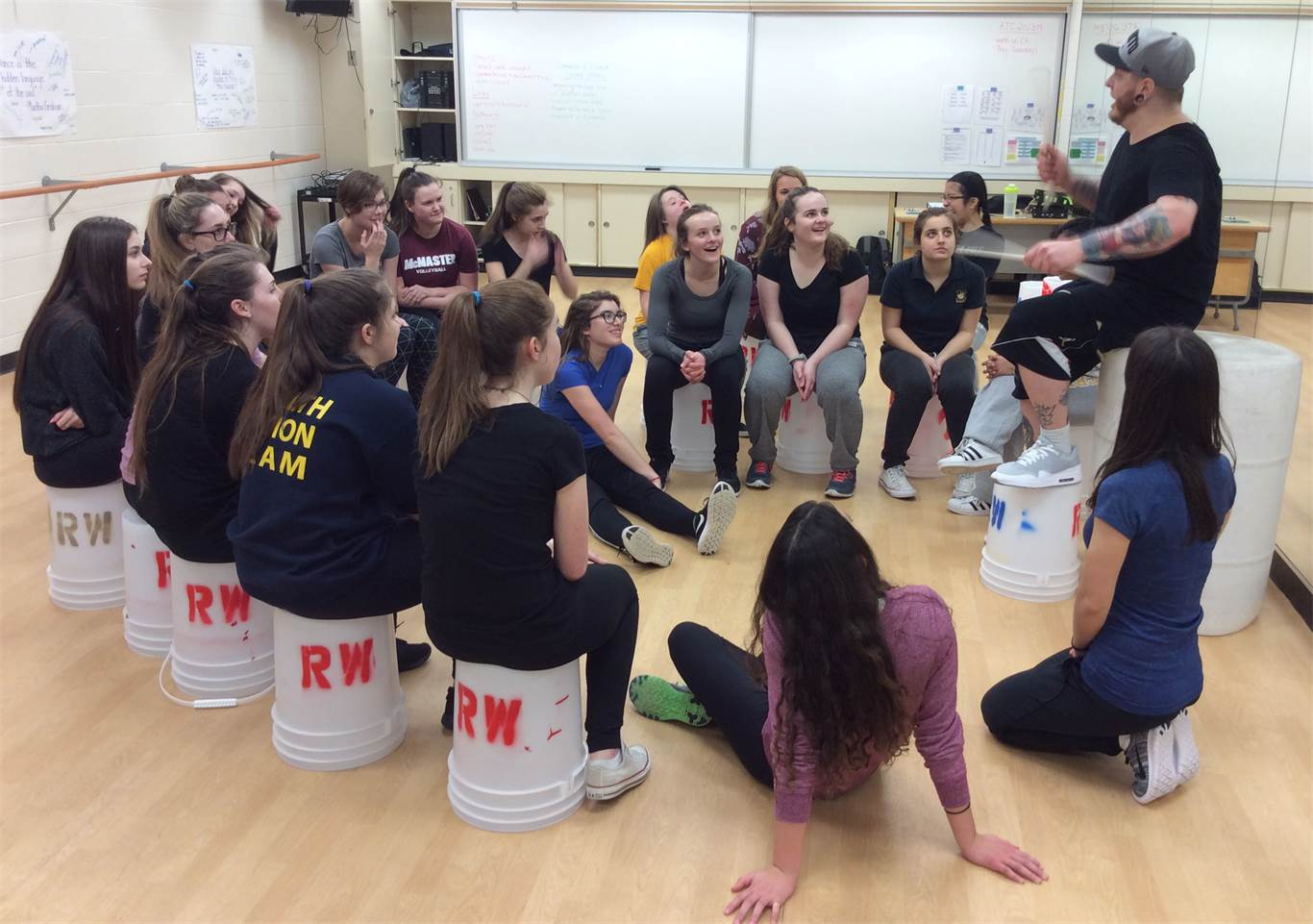 Dance workshop encourages St. Mary students to pursue their passion
