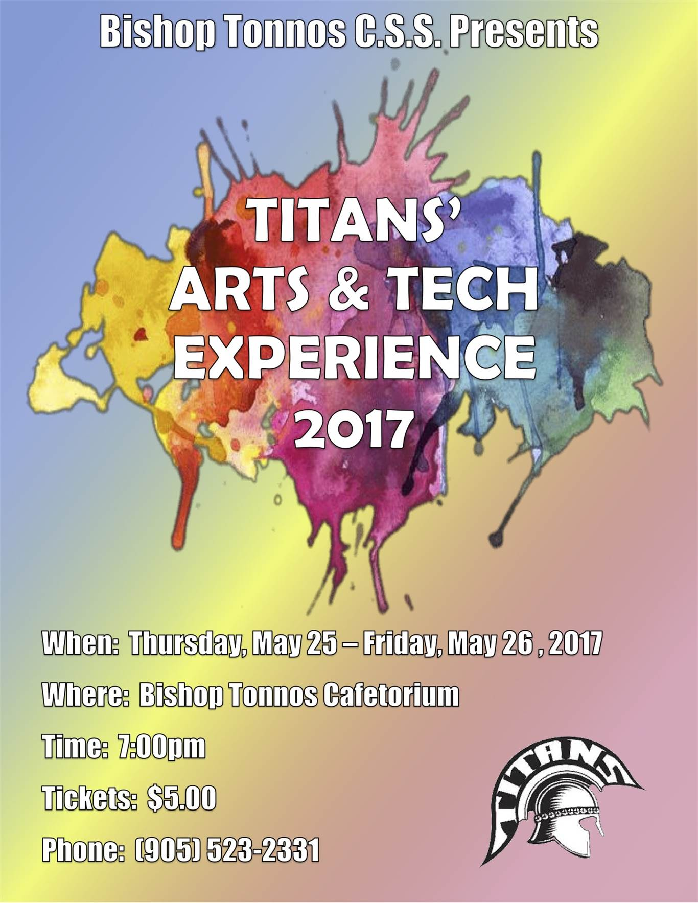 Titans' Arts & Tech Experience