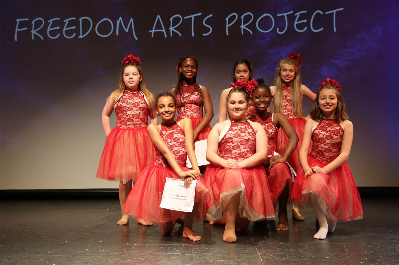 Students celebrate art during year end recital