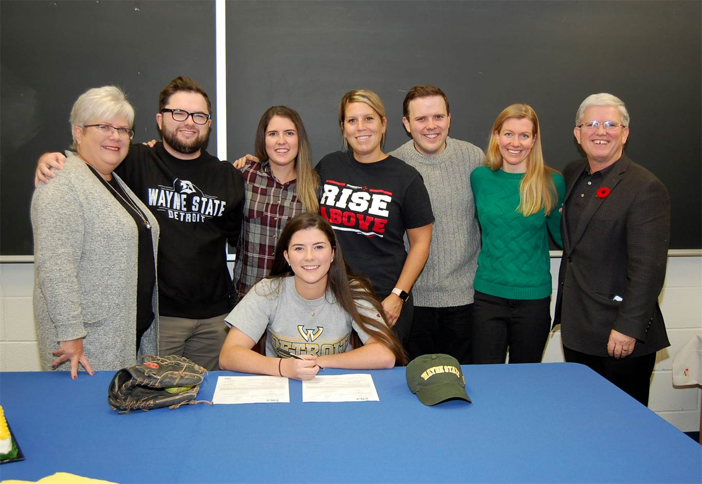 Monica Daly receives softball scholarship to Wayne State