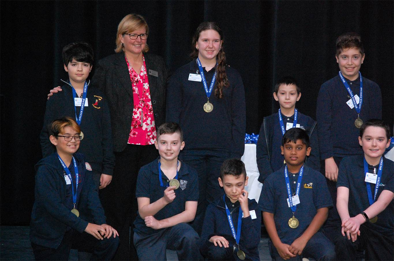 Awards ceremony recognizes top science and engineering projects at fair