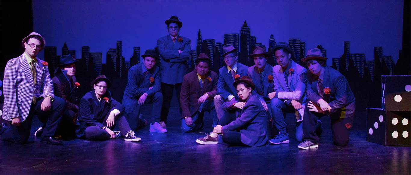 SJB performs Guys and Dolls