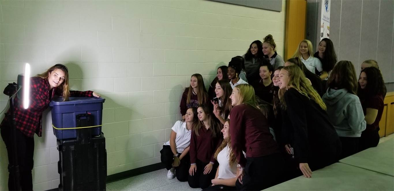 Presentation inspires female students in the trades