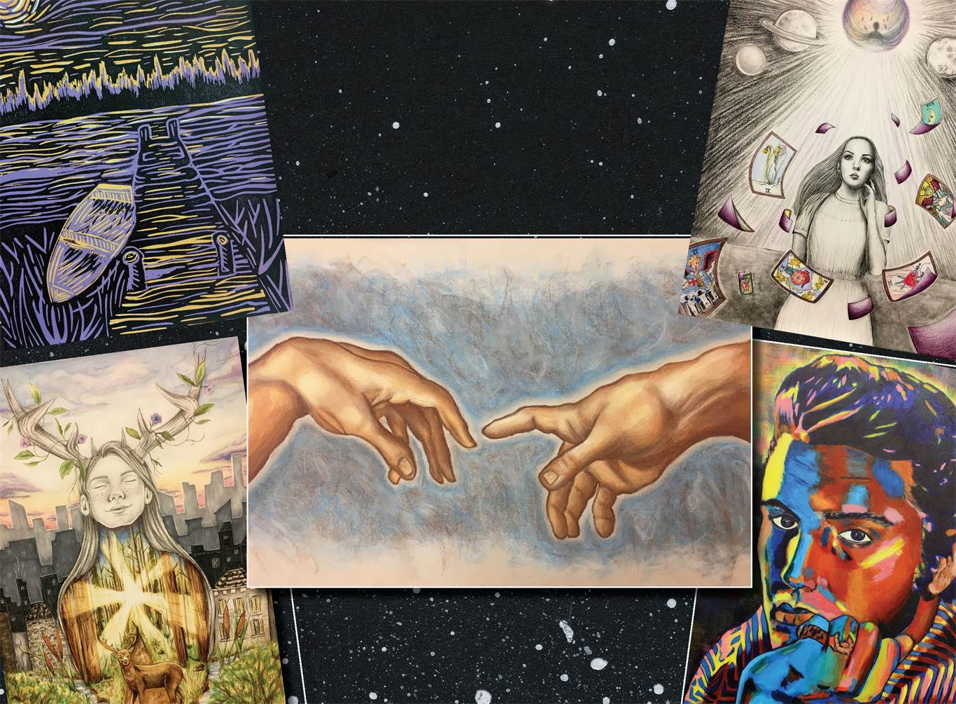 Cardinal Newman art exhibit at McMaster Innovation Park