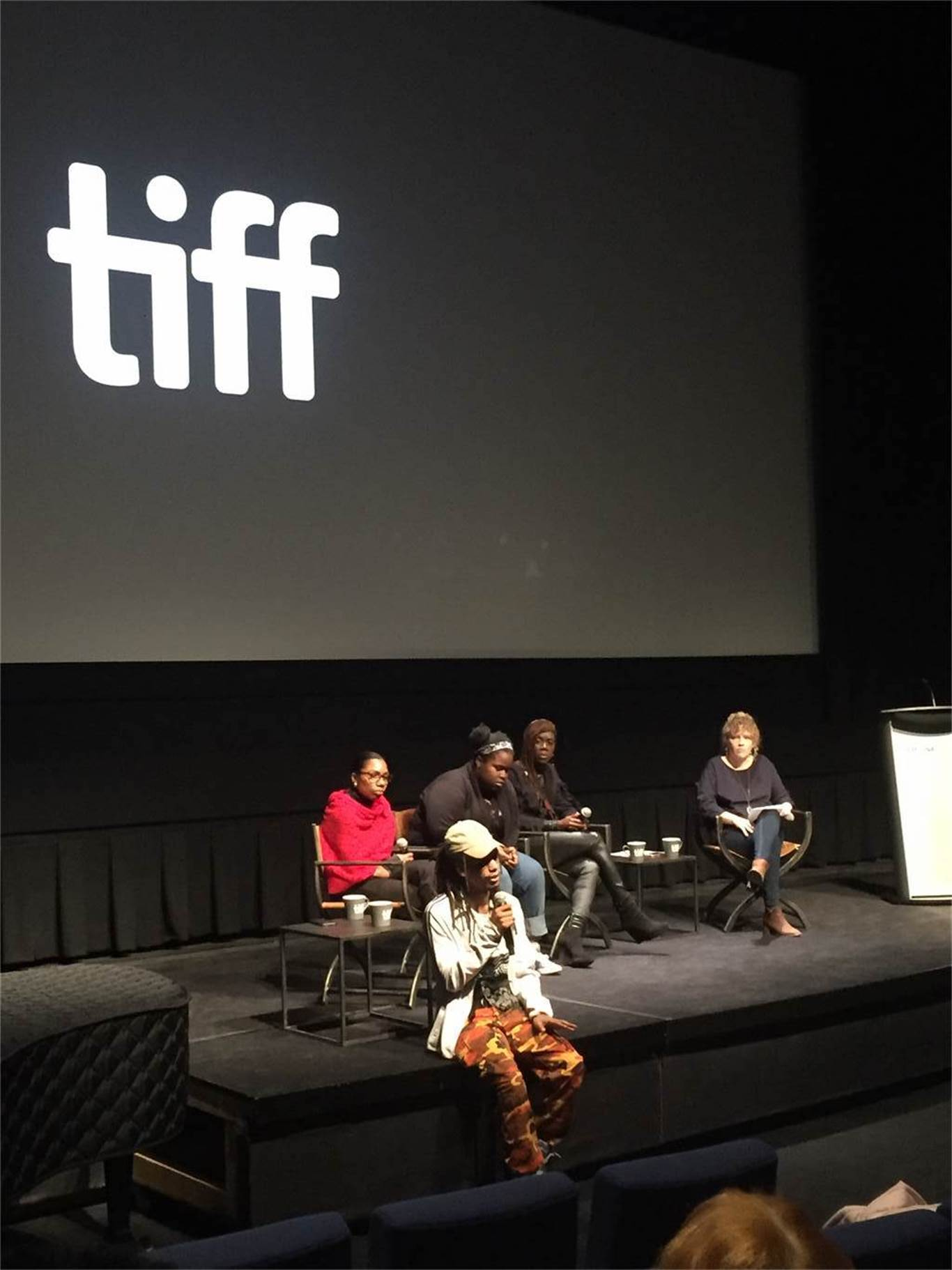 Cathedral students attend TIFF