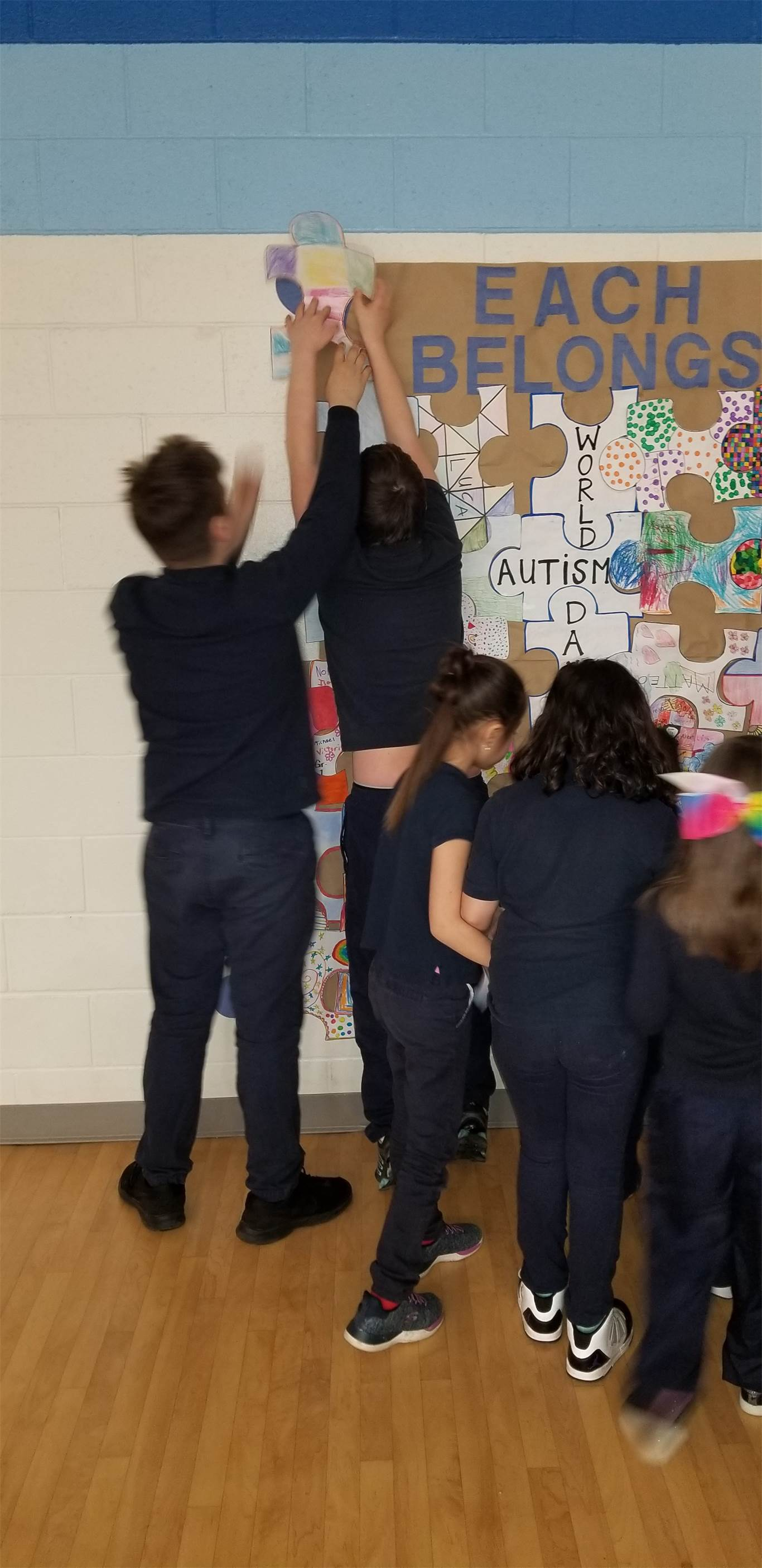 "Assumption students celebrate ""Awe-tism Awareness"""