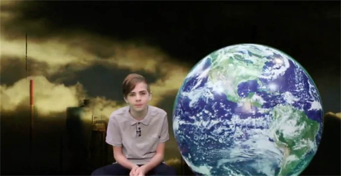 Students stand up against climate change