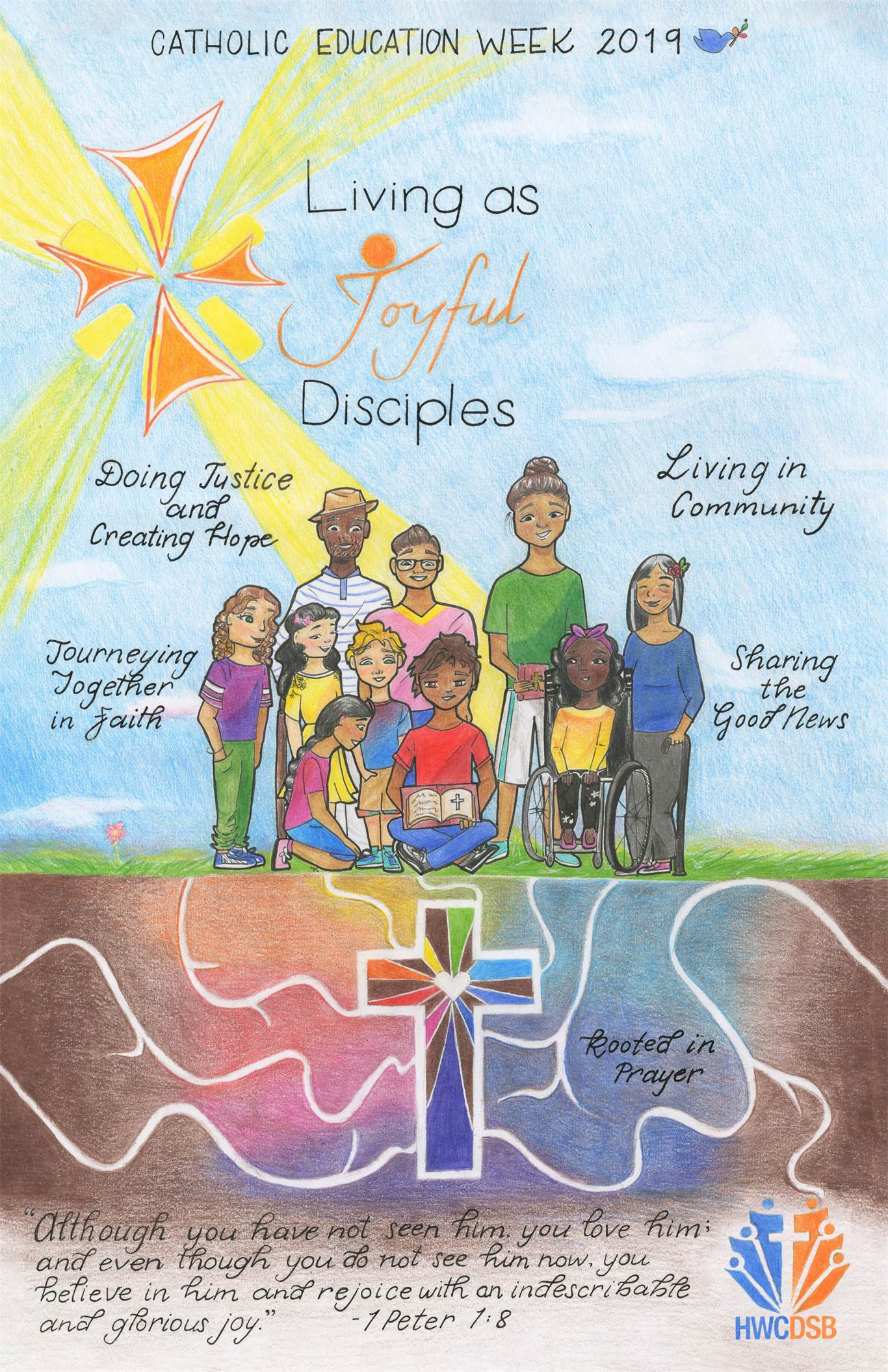"Catholic Education Week  ""Living as Joyful Disciples"""