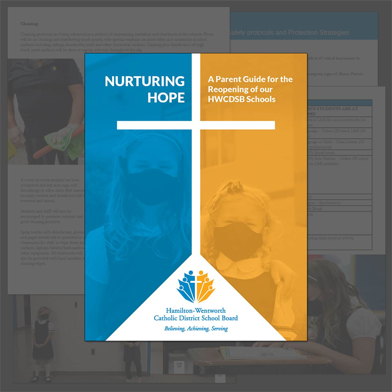Nurturing Hope - A Parent Guide for the Reopening of our HWCDSB Schools