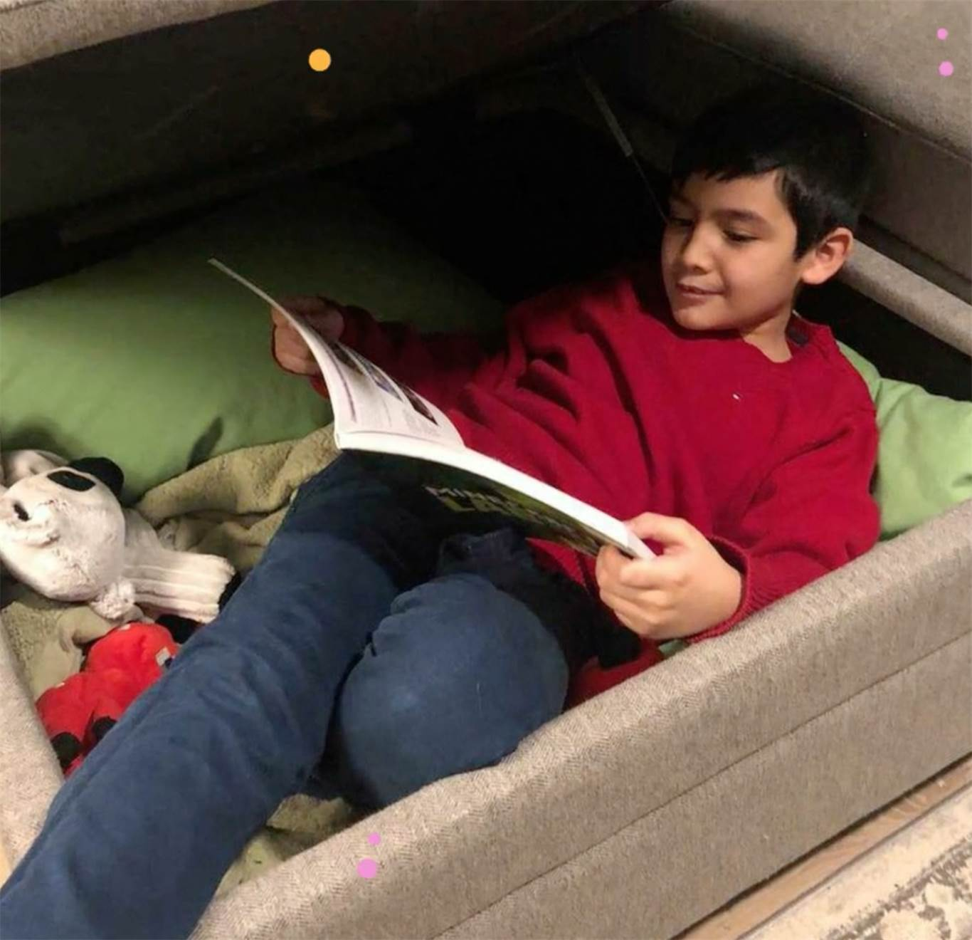 "St. Thomas the Apostle students create ""Calming Corner"" to keep mental health in check"