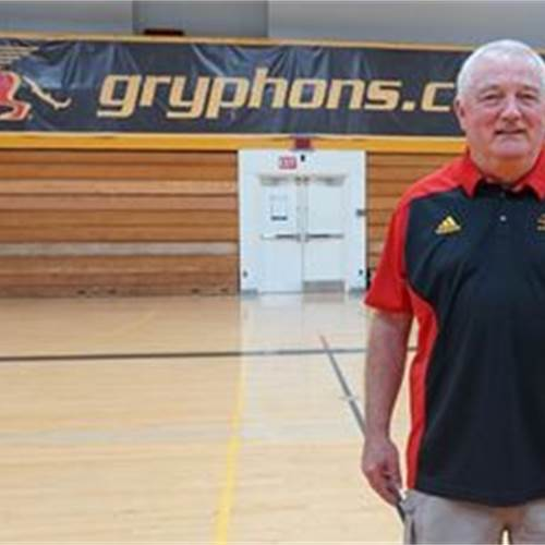 Mark Walton is the new head coach of the Guelph Gryphons women's basketball team. (Photo submitted to Guelph Mercury)