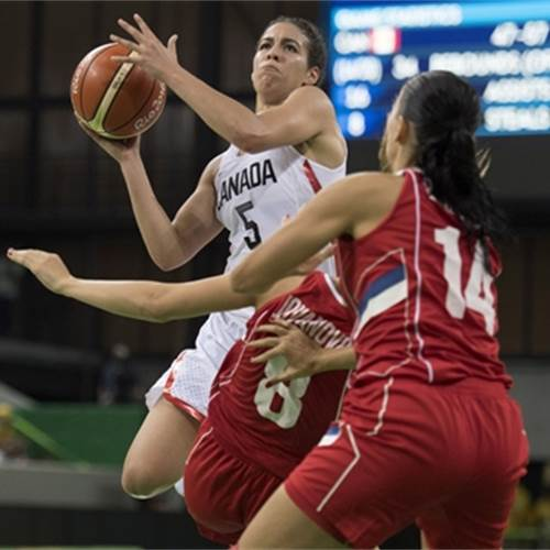 Nurse carries Canada past stunned Serbia