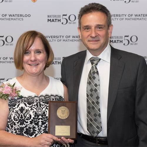 St. Mary teacher honoured for excellence in math teaching