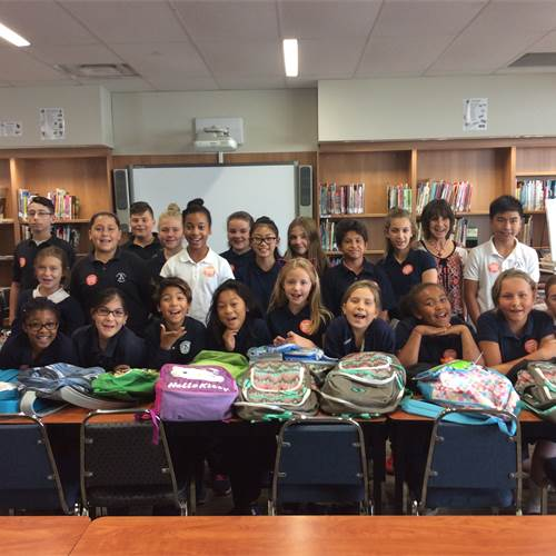 St. Ann fills backpacks with supplies and love for Texas