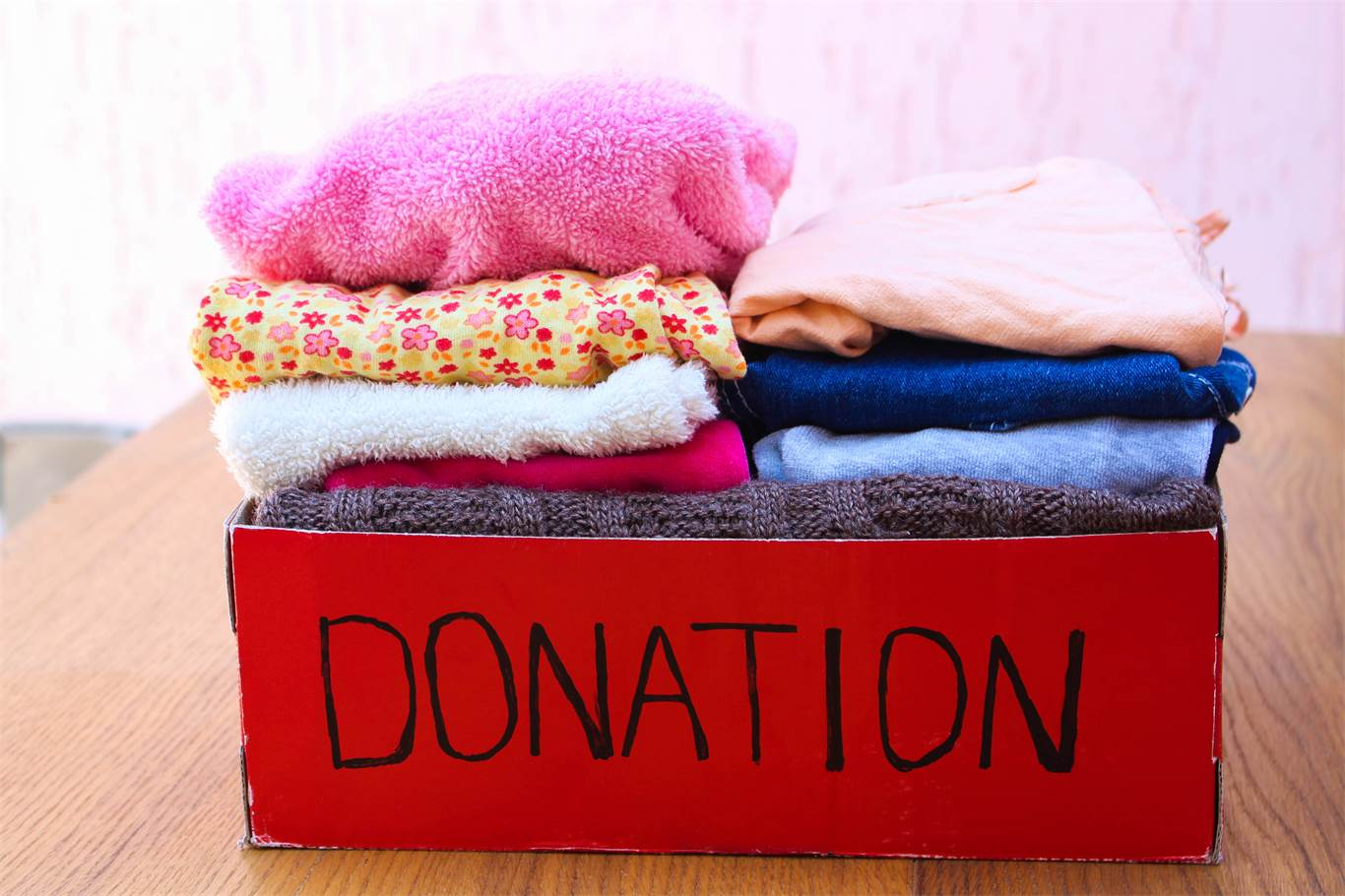 Banner Image for Cleaning out your closet? Consider donating to the Cathedral Annex.
