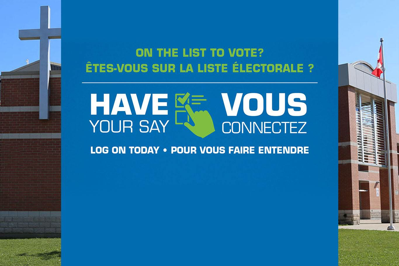 Banner Image for Get on voters' list