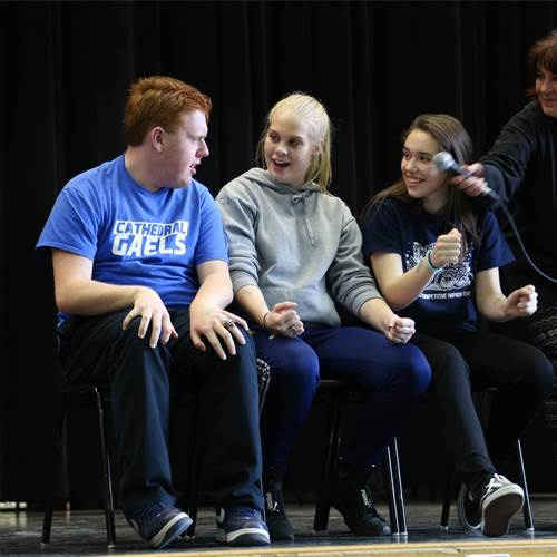 Improvaganza event builds team building and confidence in secondary students